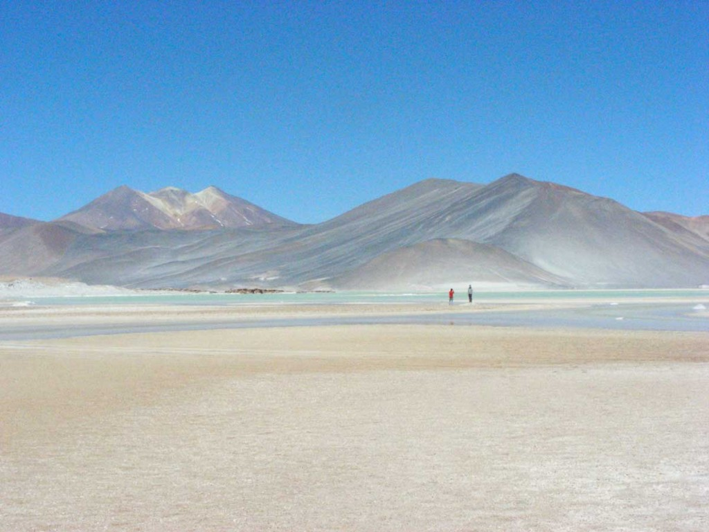 The Salar de Talar, on the east side of the Atacama
