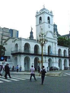 Pre-boom simplicity, the colonial Cabildo